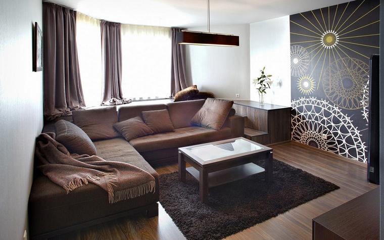 Квартира. гостиная из проекта , фото №60585