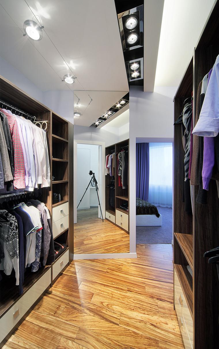 интерьер гардеробной - фото № 60779