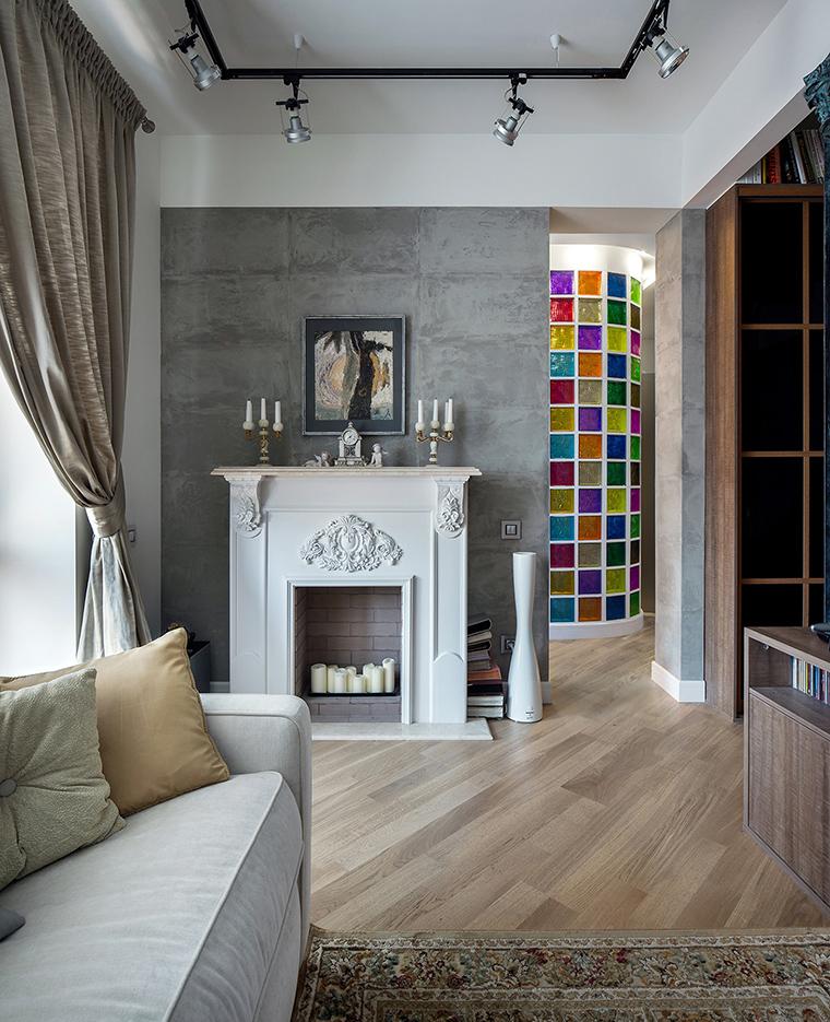Квартира. гостиная из проекта Мечта в стиле Лофт, фото №60671