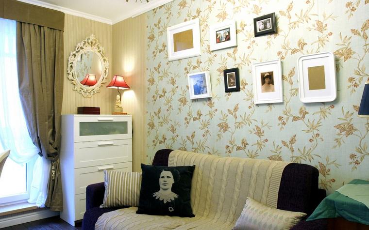 интерьер гостиной - фото № 60679