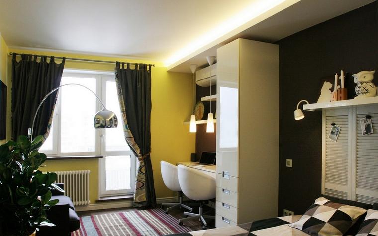 Фото № 60676 спальня  Квартира