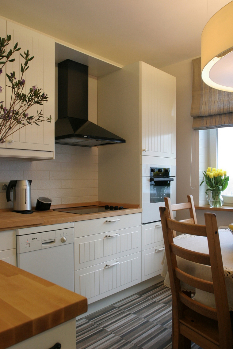 Фото № 60683 кухня  Квартира