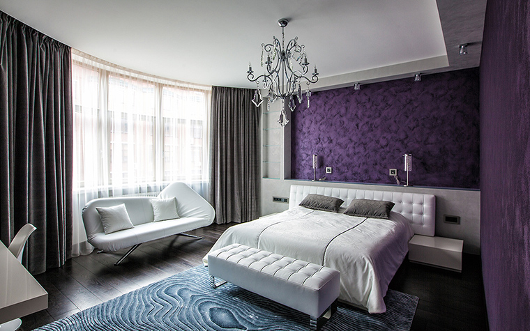 интерьер спальни - фото № 60695