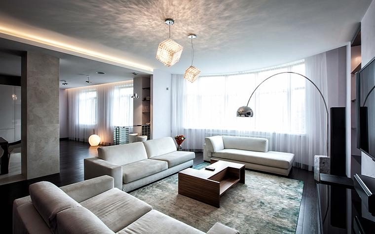 интерьер гостиной - фото № 60704