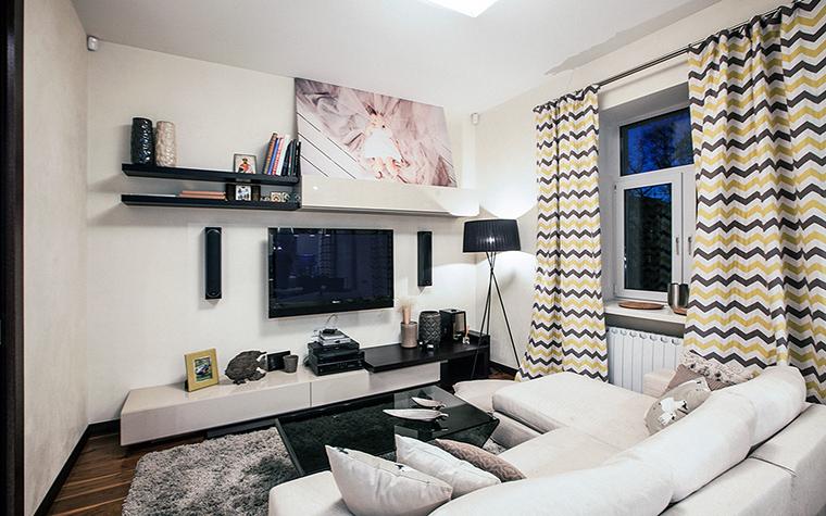 интерьер гостиной - фото № 60801