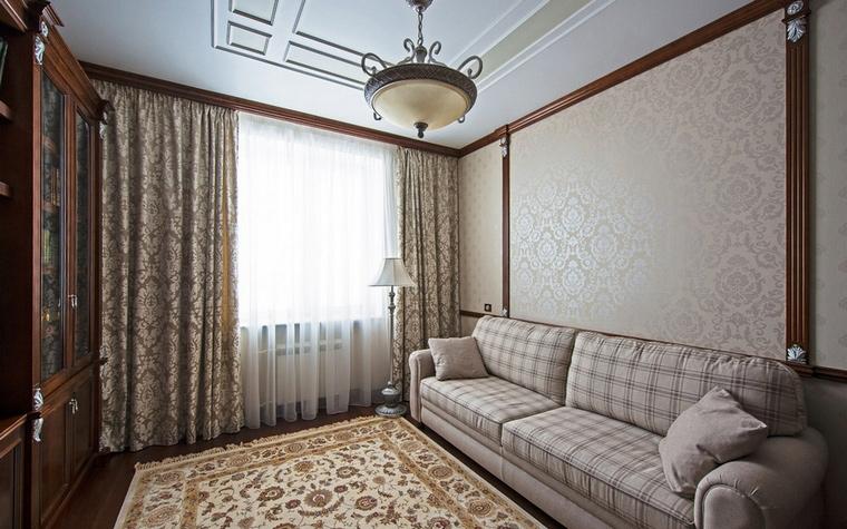 Квартира. библиотека из проекта , фото №60806