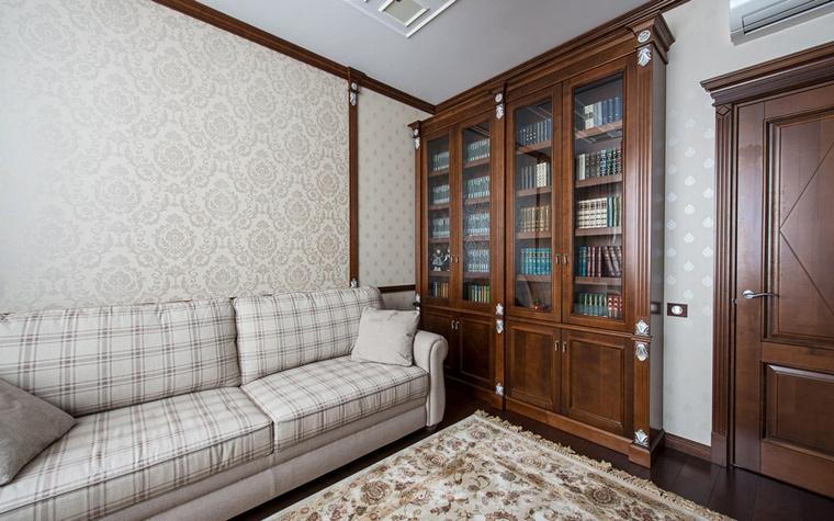 Квартира. библиотека из проекта , фото №60796