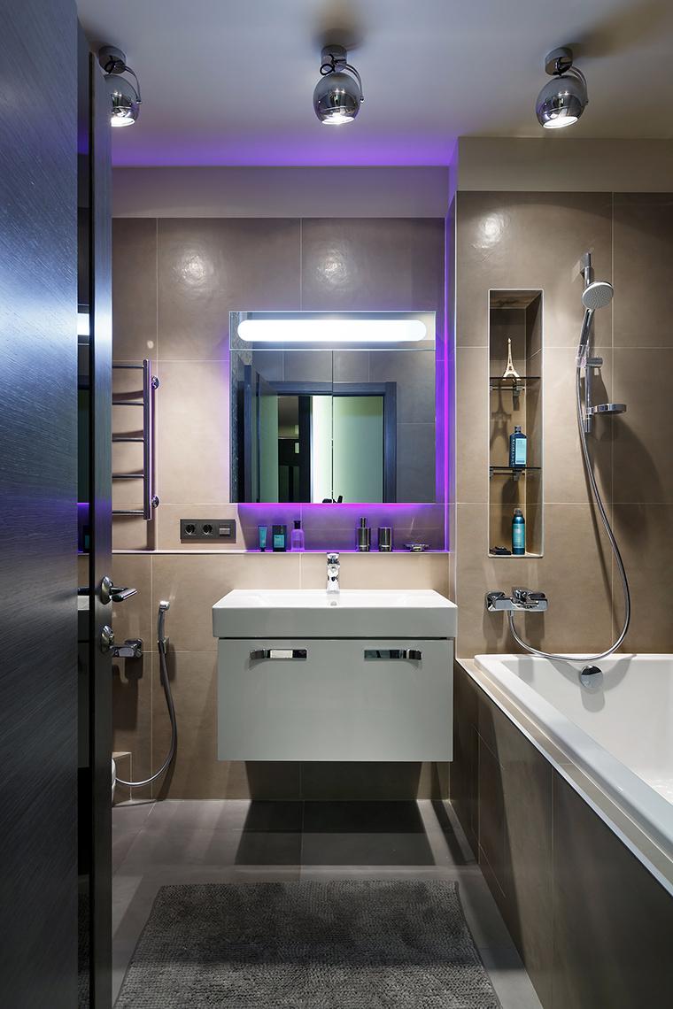 Квартира. ванная из проекта , фото №60855