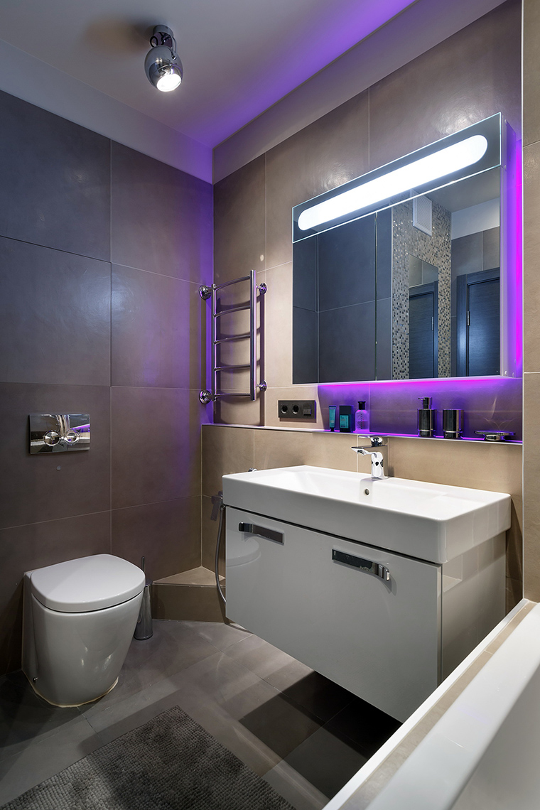 Квартира. ванная из проекта , фото №60856