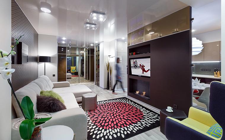 интерьер гостиной - фото № 60850
