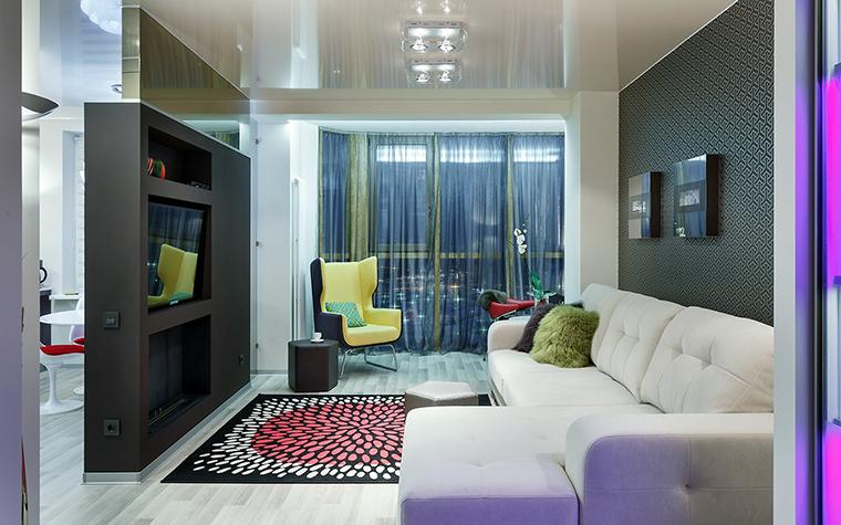 интерьер гостиной - фото № 60852