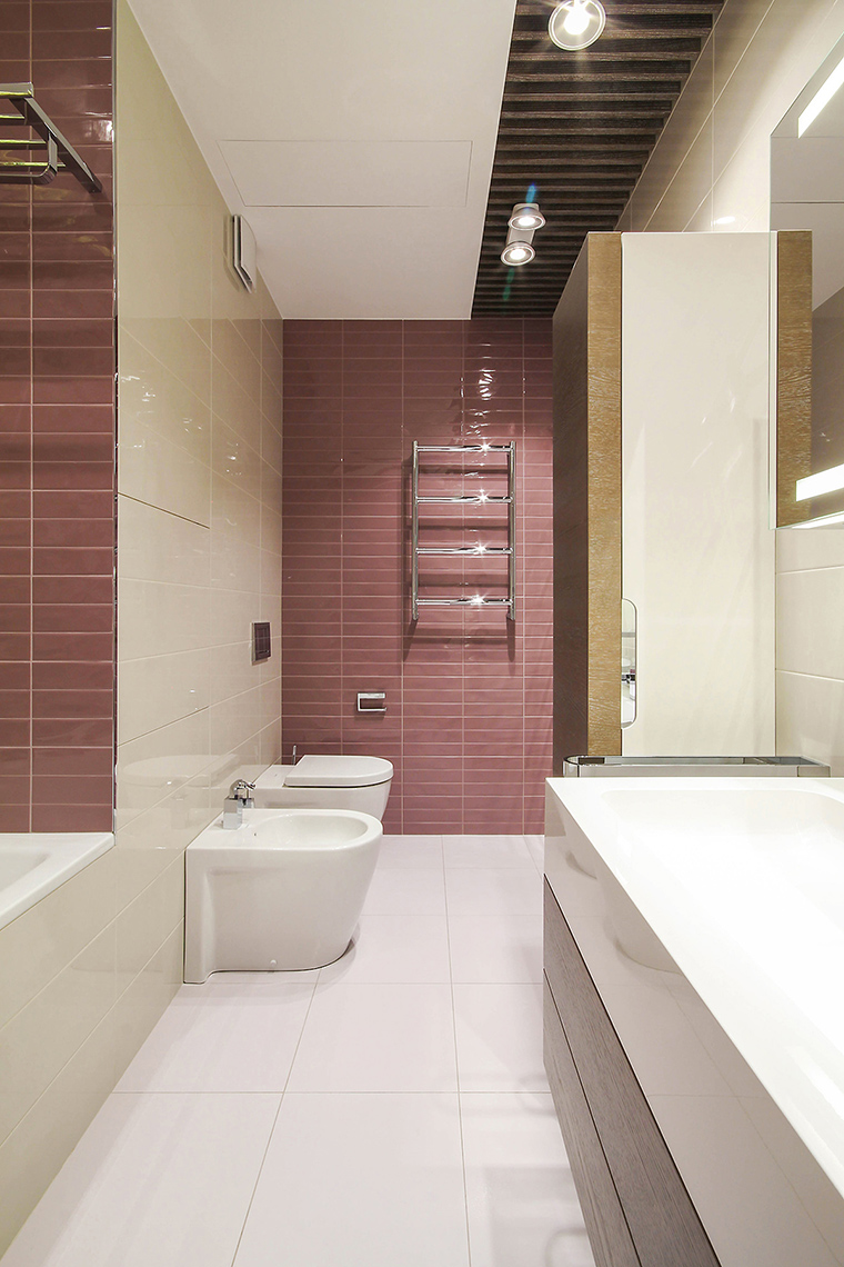 Квартира. ванная из проекта , фото №61047