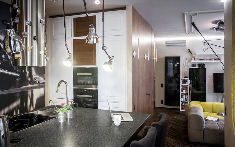 Фото № 60916 кухня  Квартира