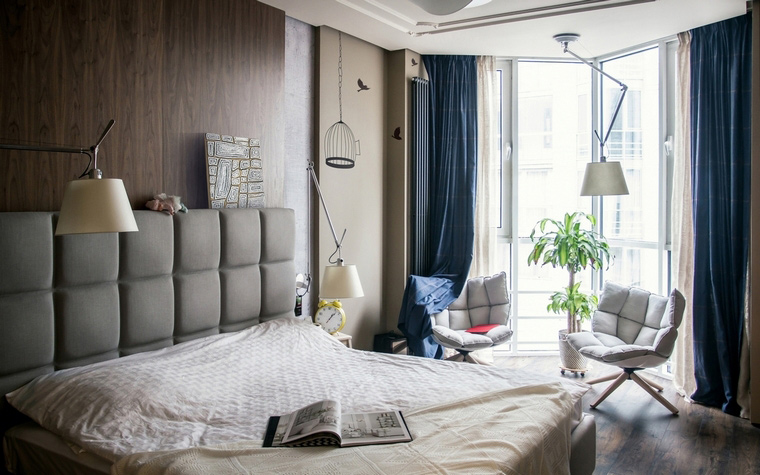 интерьер спальни - фото № 60925