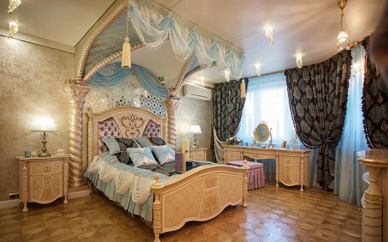 Квартира. спальня из проекта , фото №61167