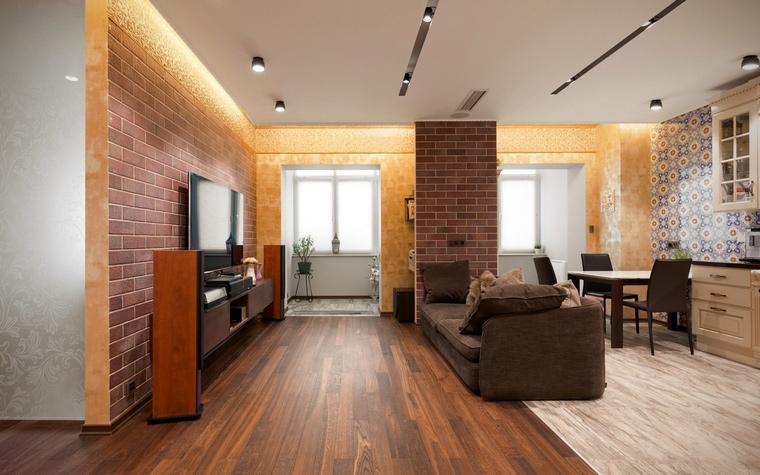 Фото № 61190 гостиная  Квартира