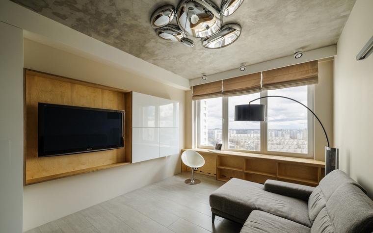 интерьер гостиной - фото № 61345