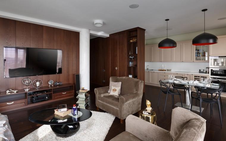 интерьер гостиной - фото № 61494