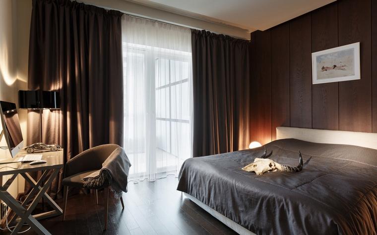 Квартира. спальня из проекта , фото №61503