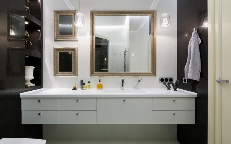 Квартира. ванная из проекта , фото №61506
