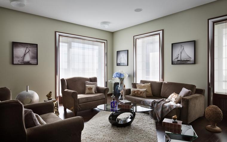интерьер гостиной - фото № 61495