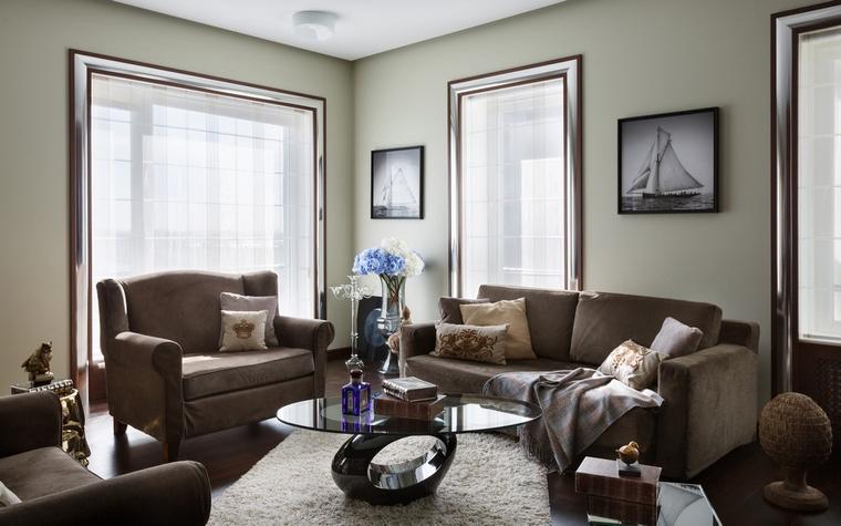 интерьер гостиной - фото № 61496