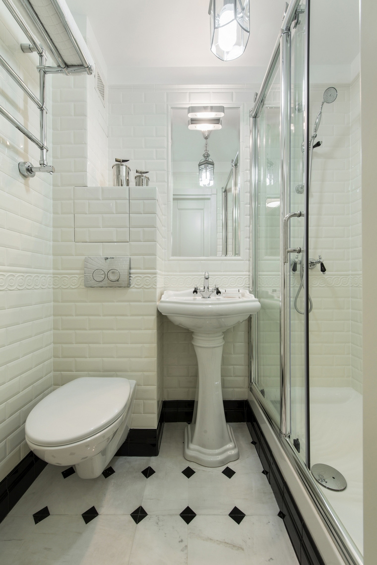 Квартира. ванная из проекта , фото №61559