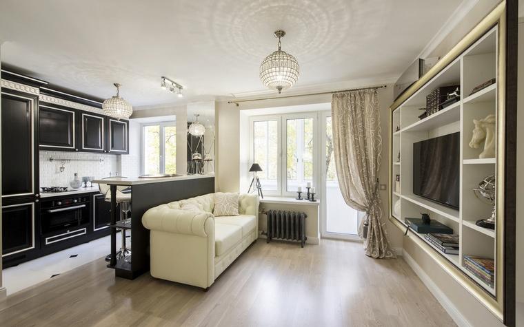 Квартира. гостиная из проекта , фото №61550