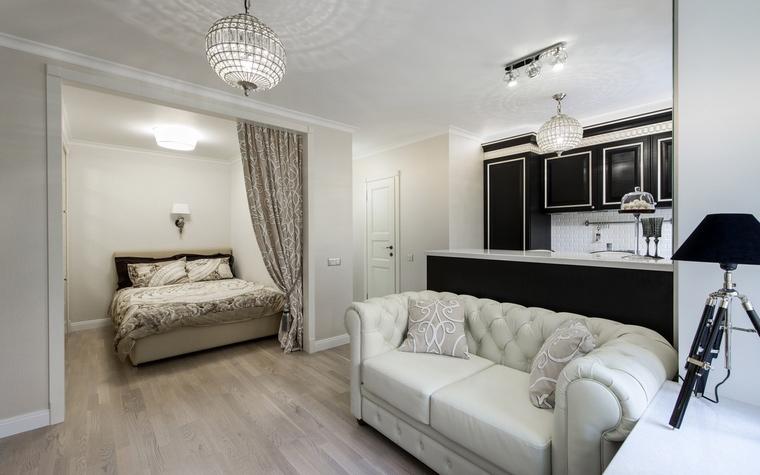 Квартира. гостиная из проекта , фото №61551