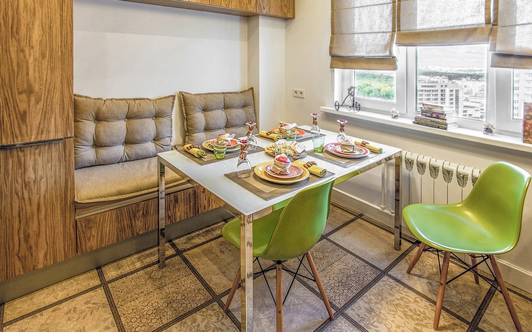 Квартира. кухня из проекта , фото №61715
