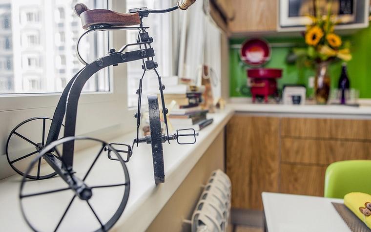 Квартира. кухня из проекта , фото №61719