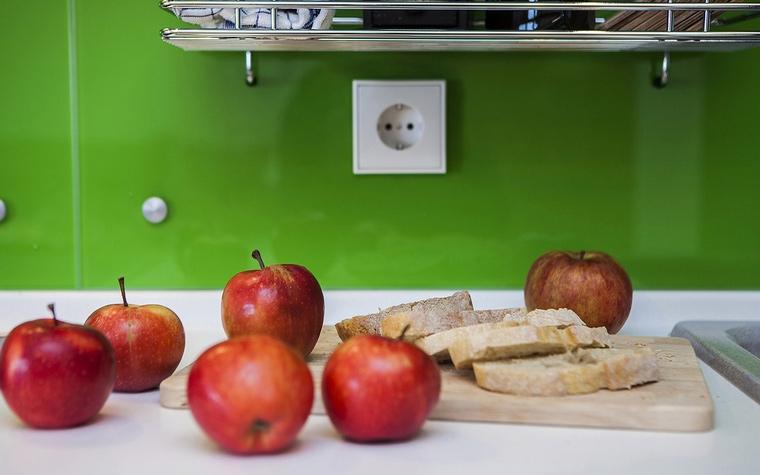 Квартира. кухня из проекта , фото №61729