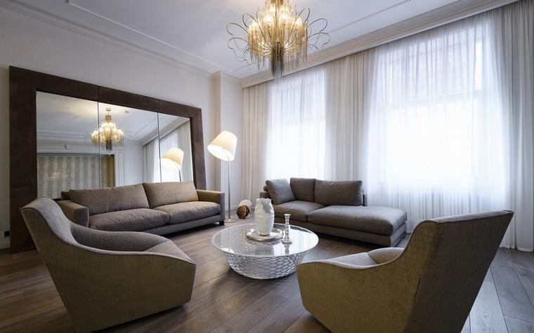 интерьер гостиной - фото № 61764