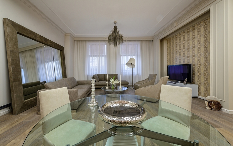 интерьер гостиной - фото № 61766