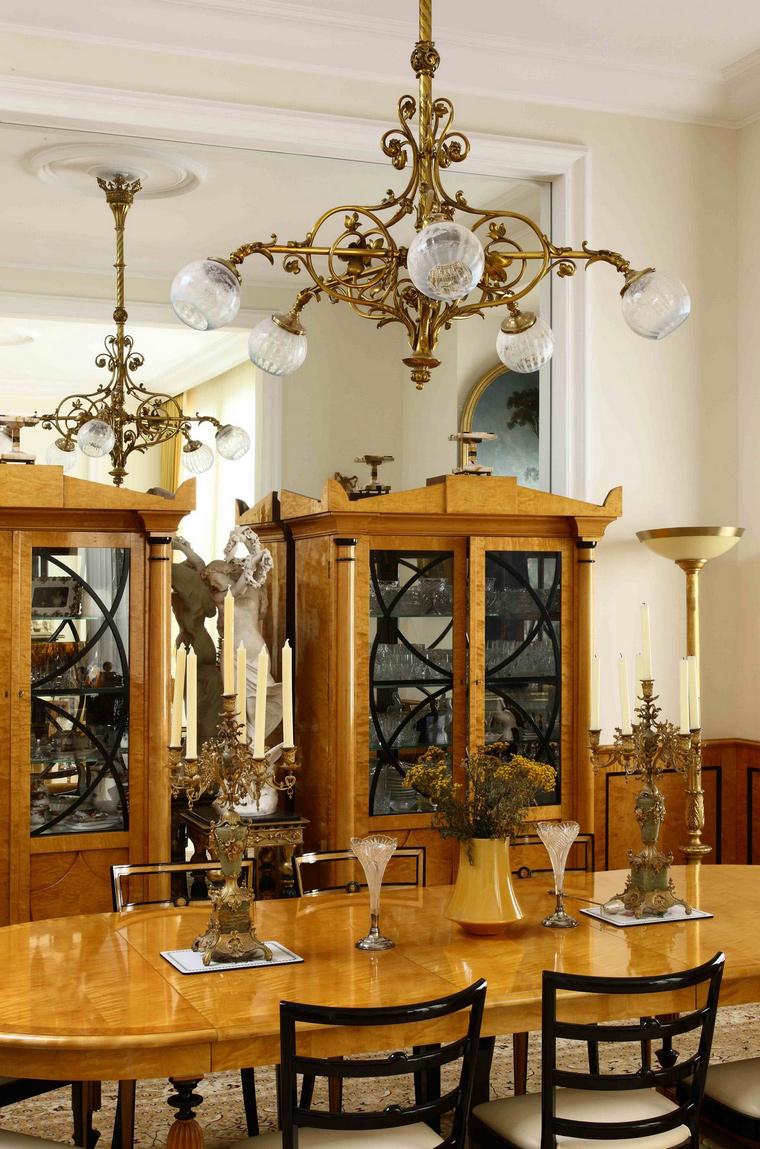 Квартира. столовая из проекта , фото №61814