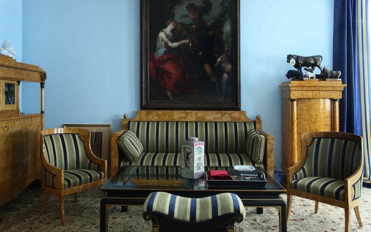 интерьер гостиной - фото № 61811