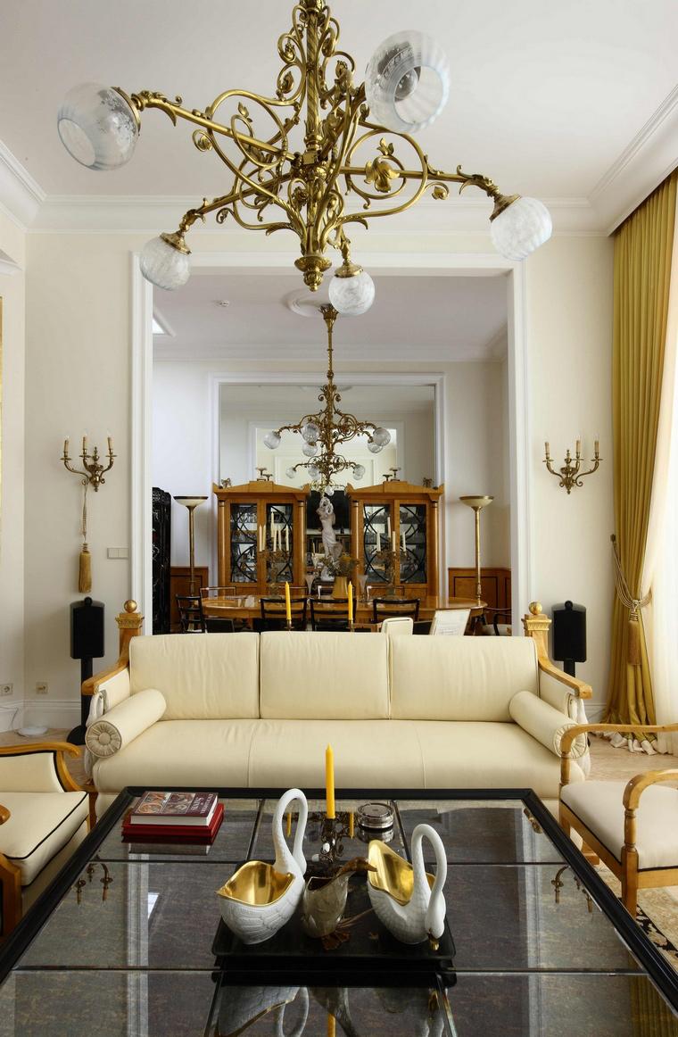 Фото № 61809 гостиная  Квартира