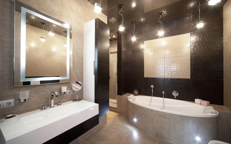 Квартира. ванная из проекта , фото №61819