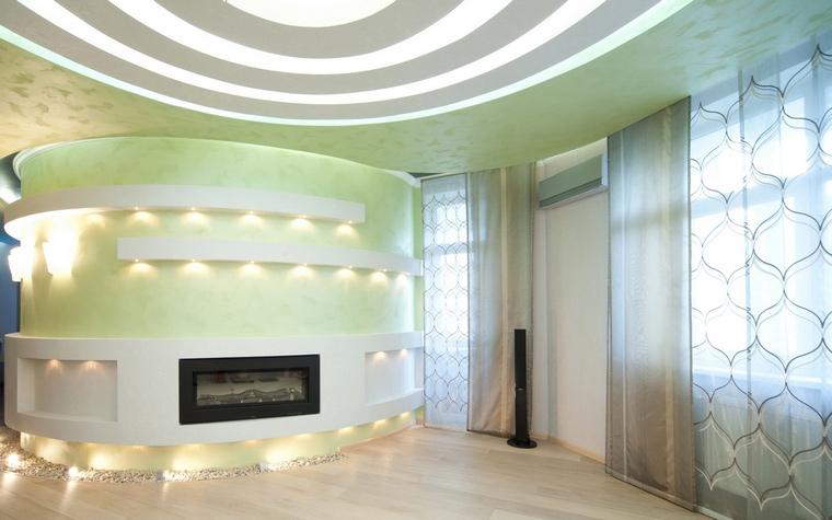 Квартира. гостиная из проекта , фото №61821