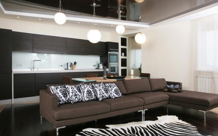 интерьер гостиной - фото № 61828