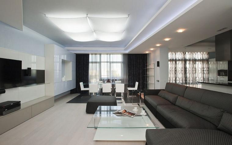 интерьер гостиной - фото № 61839
