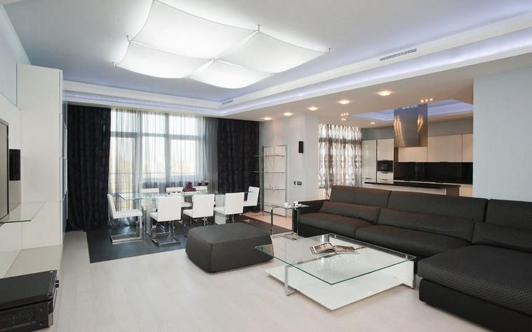 интерьер гостиной - фото № 61840