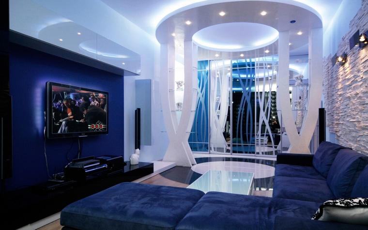 интерьер гостиной - фото № 61845