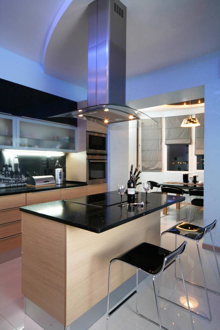 Квартира. кухня из проекта , фото №61846