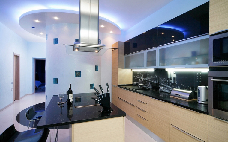Квартира. кухня из проекта , фото №61847