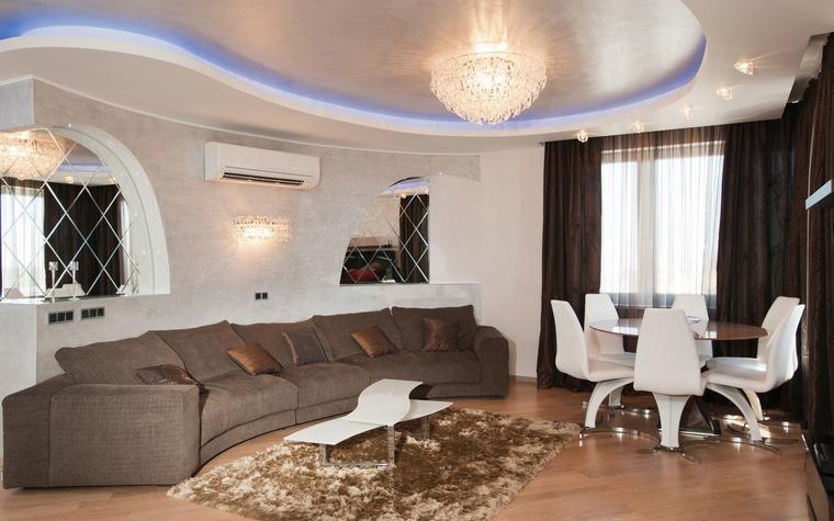 интерьер гостиной - фото № 61852
