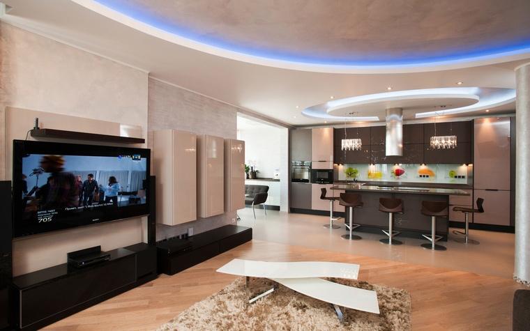 интерьер гостиной - фото № 61853