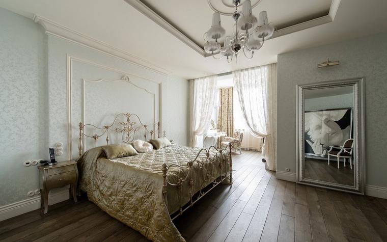 Квартира. спальня из проекта , фото №61869