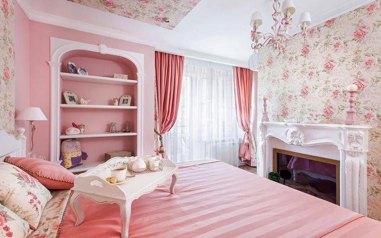 Квартира. спальня из проекта , фото №61919