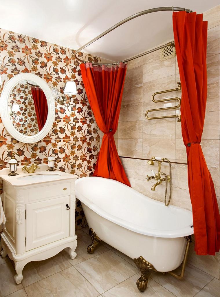 Квартира. ванная из проекта , фото №61920